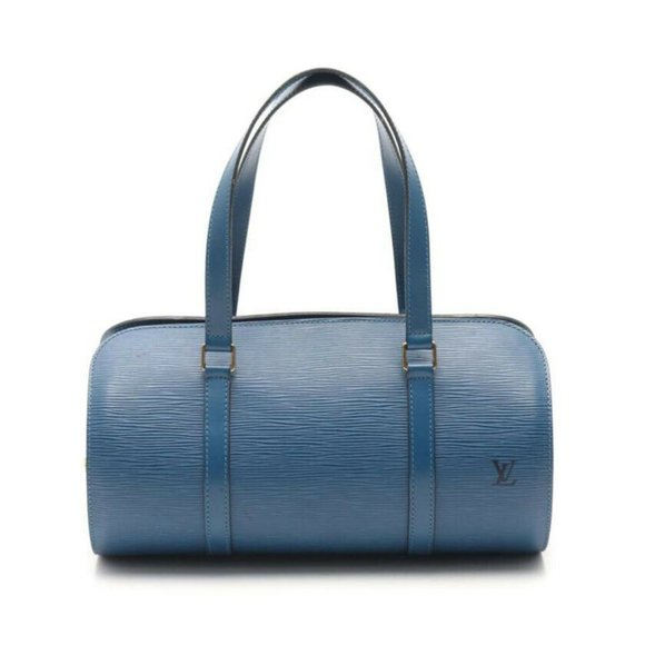 LOUIS VUITTON Soufflot Shoulder Bag Epi - Blue